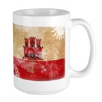 Gibraltar Flag Large Mug