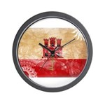 Gibraltar Flag Wall Clock
