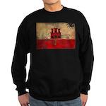 Gibraltar Flag Sweatshirt (dark)
