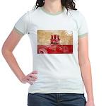 Gibraltar Flag Jr. Ringer T-Shirt