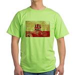 Gibraltar Flag Green T-Shirt