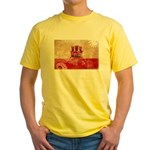 Gibraltar Flag Yellow T-Shirt