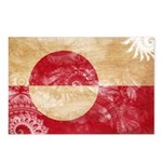Greenland Flag Postcards (Package of 8)