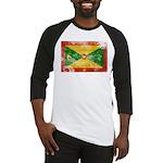 Grenada Flag Baseball Jersey