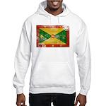 Grenada Flag Hooded Sweatshirt