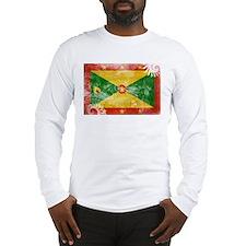 Grenada Flag Long Sleeve T-Shirt