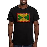 Grenada Flag Men's Fitted T-Shirt (dark)