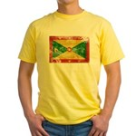 Grenada Flag Yellow T-Shirt