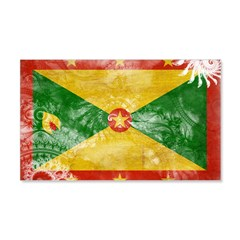 Grenada Flag 22x14 Wall Peel
