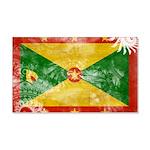 Grenada Flag 22x14 Wall Peel