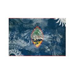 Guam Flag Rectangle Magnet (10 pack)