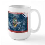Guam Flag Large Mug