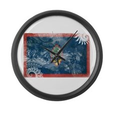 Guam Flag Large Wall Clock