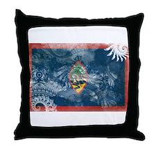Guam Flag Throw Pillow