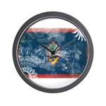 Guam Flag Wall Clock