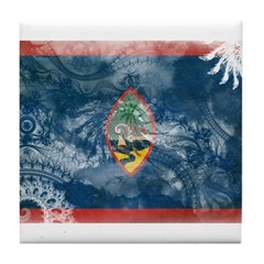 Guam Flag Tile Coaster