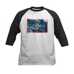Guam Flag Kids Baseball Jersey