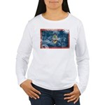 Guam Flag Women's Long Sleeve T-Shirt