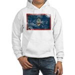 Guam Flag Hooded Sweatshirt