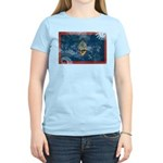 Guam Flag Women's Light T-Shirt