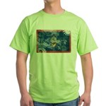Guam Flag Green T-Shirt