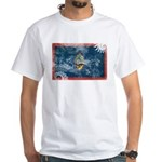 Guam Flag White T-Shirt