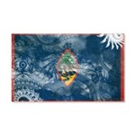 Guam Flag 22x14 Wall Peel