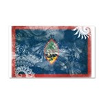Guam Flag Car Magnet 20 x 12