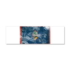Guam Flag Car Magnet 10 x 3