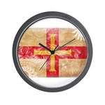 Guernsey Flag Wall Clock