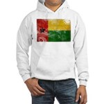 Guinea Bissau Flag Hooded Sweatshirt