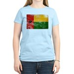 Guinea Bissau Flag Women's Light T-Shirt