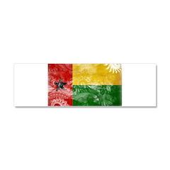 Guinea Bissau Flag Car Magnet 10 x 3