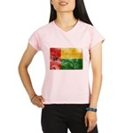 Guinea Bissau Flag Performance Dry T-Shirt