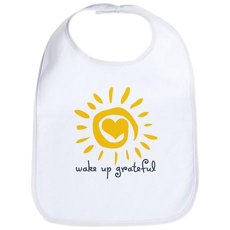 Wake Up Grateful Bib
