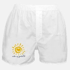 Wake Up Grateful Boxer Shorts