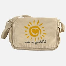 Wake Up Grateful Messenger Bag