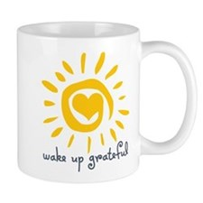 Wake Up Grateful Mug