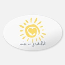 Wake Up Grateful Decal