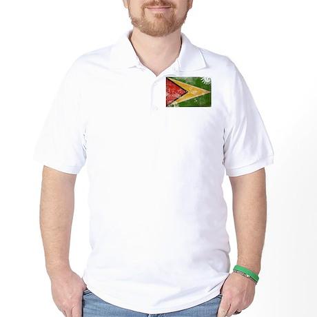 Guyana Flag Golf Shirt