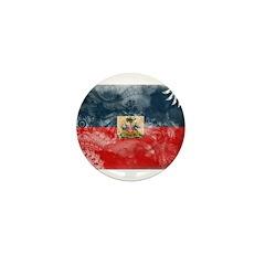 Haiti Flag Mini Button (100 pack)