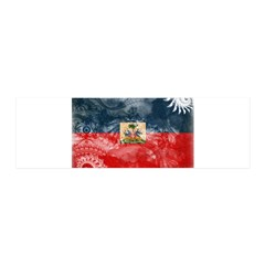Haiti Flag 21x7 Wall Peel