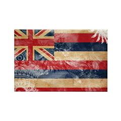 Hawaii Flag Rectangle Magnet (10 pack)