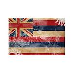 Hawaii Flag Rectangle Magnet