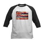 Hawaii Flag Kids Baseball Jersey