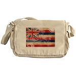 Hawaii Flag Messenger Bag