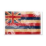 Hawaii Flag Car Magnet 20 x 12