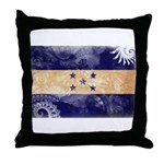 Honduras Flag Throw Pillow