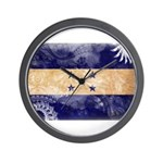 Honduras Flag Wall Clock