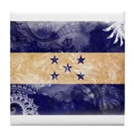 Honduras Flag Tile Coaster